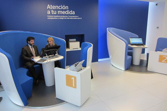 بانک BBVA اسپانیا، طرح IDEO